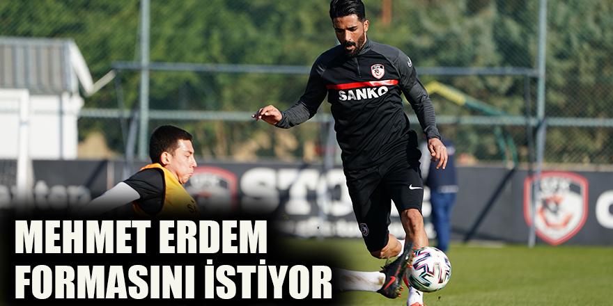Mehmet Erdem formasını istiyor