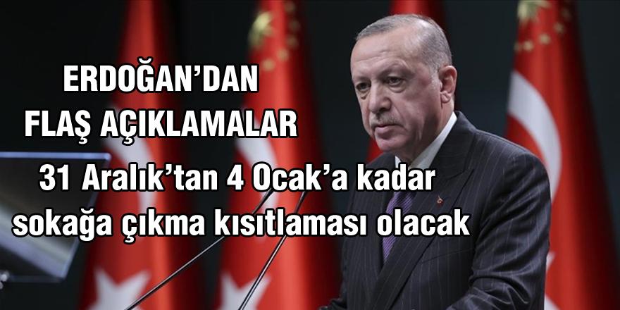Erdoğan'dan dikkat çeken açıklamalar