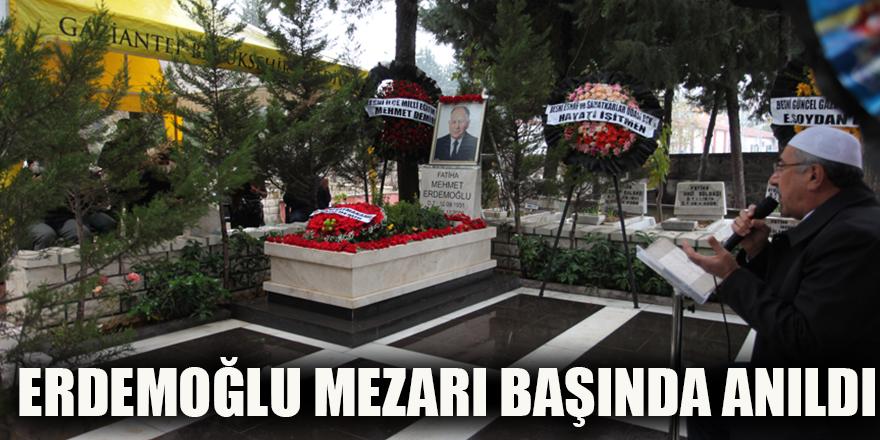 Erdemoğlu mezarı başında anıldı