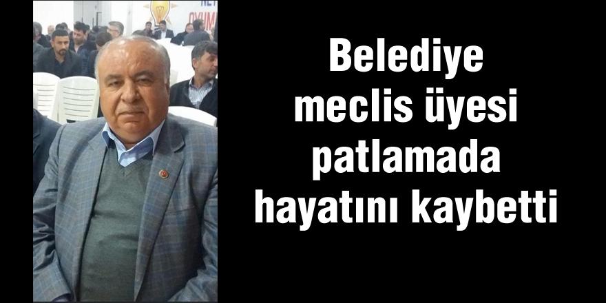 BELEDİYE MECLİS ÜYESİ HAYATINI KAYBETTİ