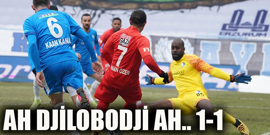 Ah Djilobodji ah.. 1-1