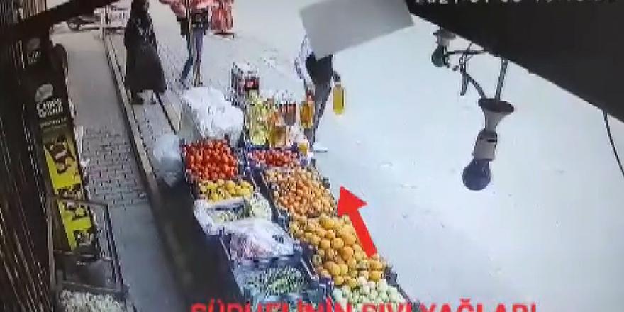 Yağ hırsızları faka bastı