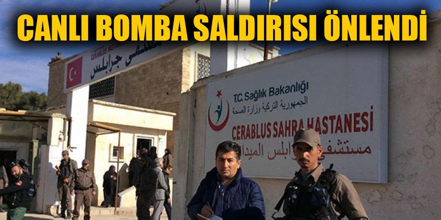 Canlı bomba saldırısı önlendi