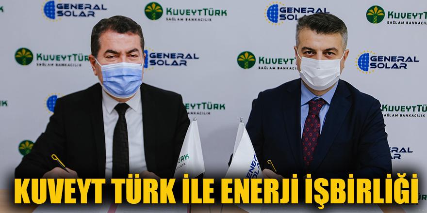 Kuveyt Türk ile enerji işbirliği