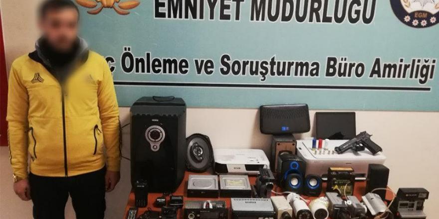 Esentepe'de hırsızlık operasyonu