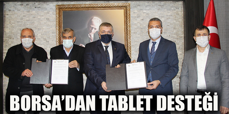 Borsa'dan tablet desteği