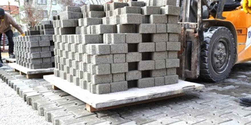 Araban belediyesi Kilit taşı ve bordür satın alınacak