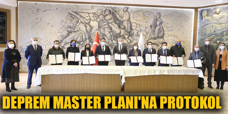 Deprem Master Planı'na protokol