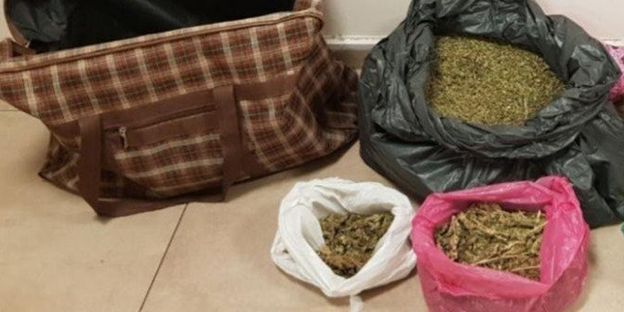 7 kilo uyuşturucu madde ele geçirildi