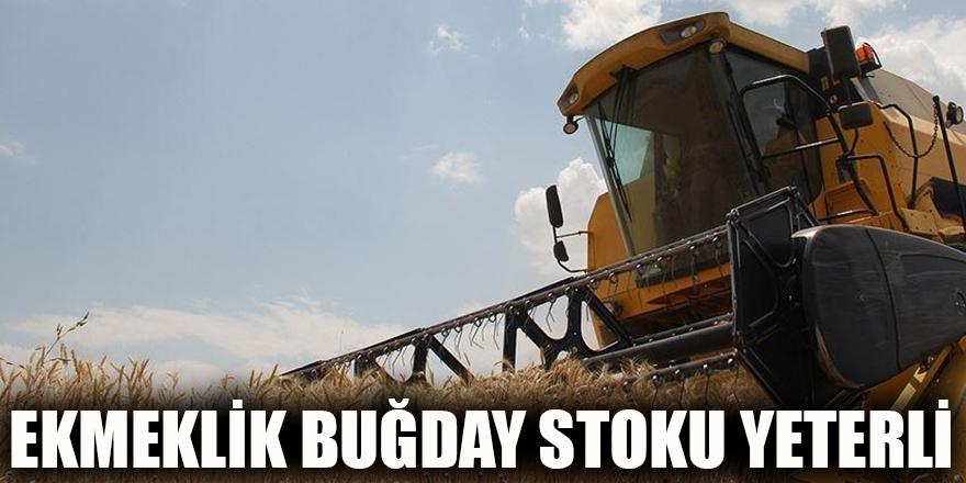 Ekmeklik buğday stoku yeterli