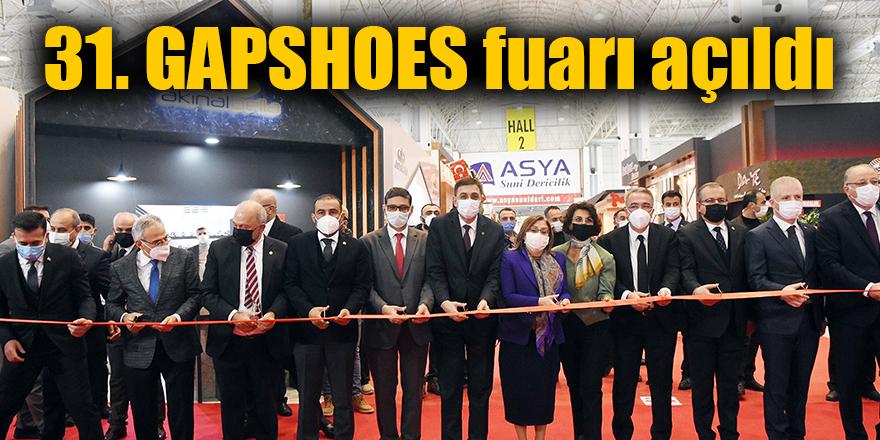 31. GAPSHOES fuarı açıldı