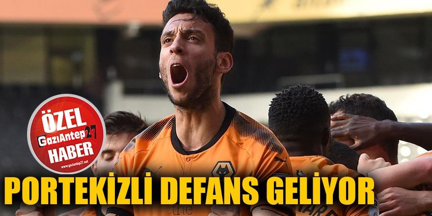 Portekizli defans geliyor