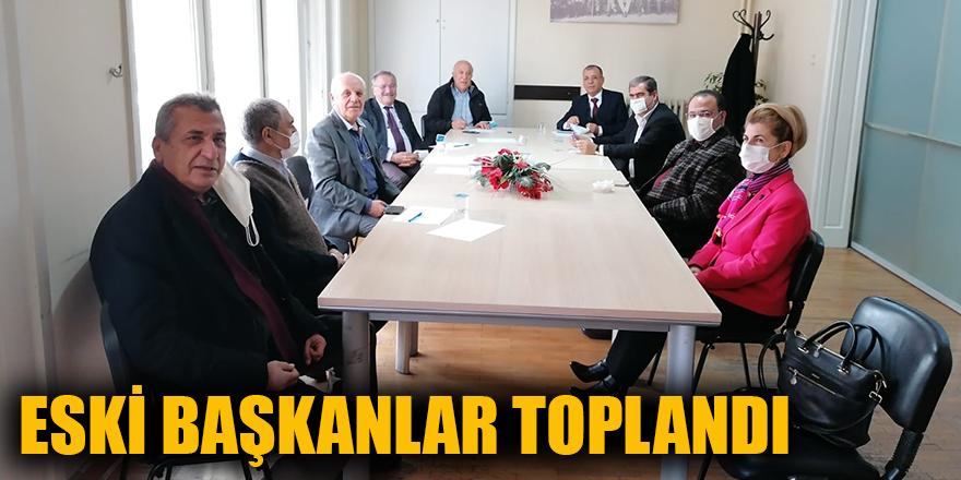 Eski başkanlar toplandı