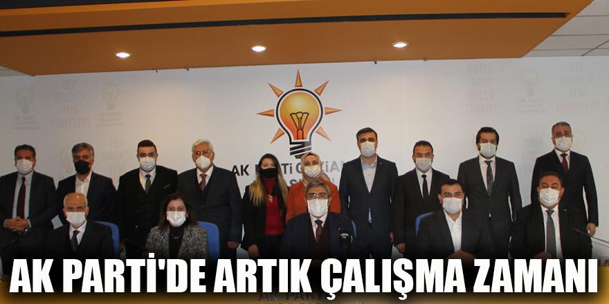 AK Parti'de artık çalışma zamanı
