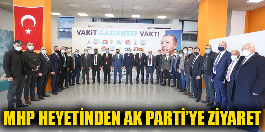MHP heyetinden AK Parti'ye ziyaret
