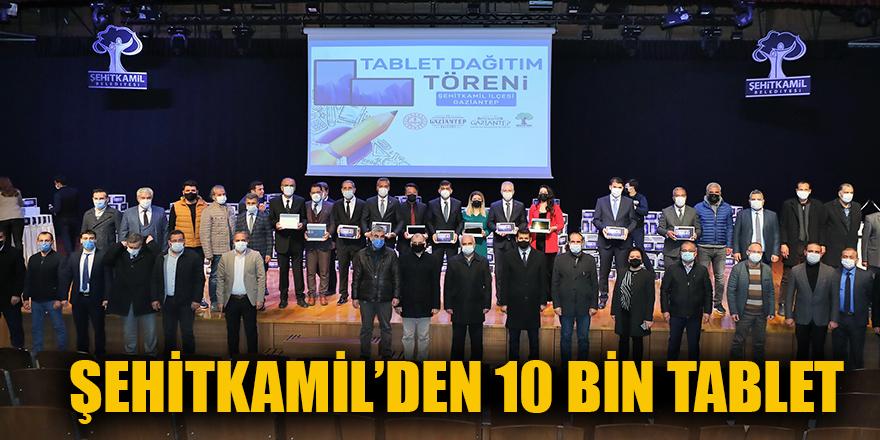 Şehitkamil'den 10 bin tablet