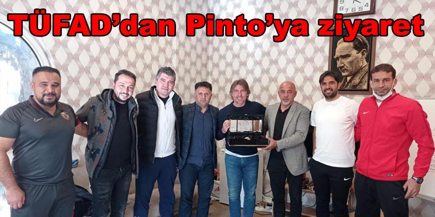TÜFAD'dan Pinto'ya ziyaret