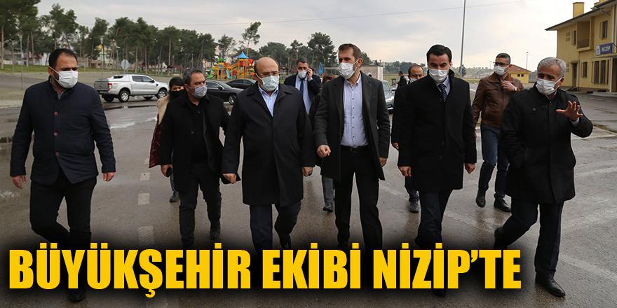 Büyükşehir ekibi Nizip'te