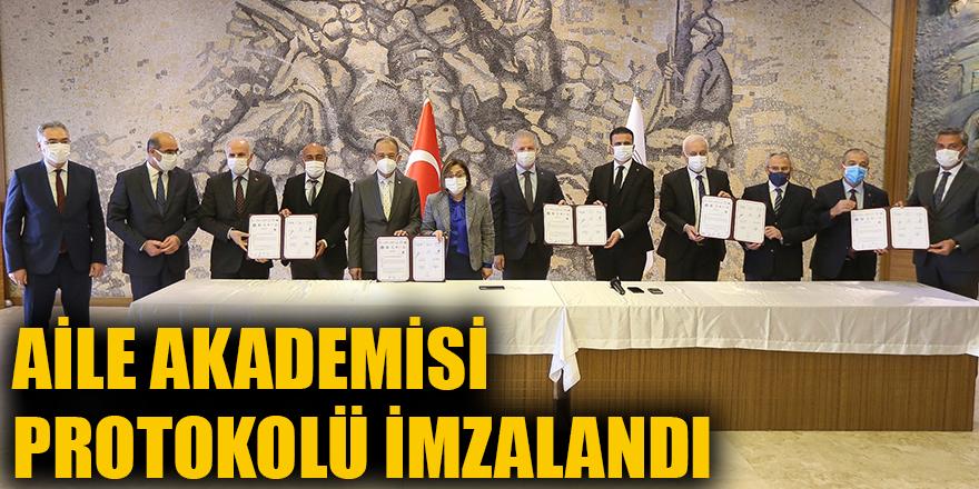 Aile Akademisi protokolü imzalandı