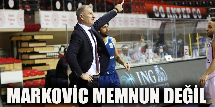 Markovic memnun değil