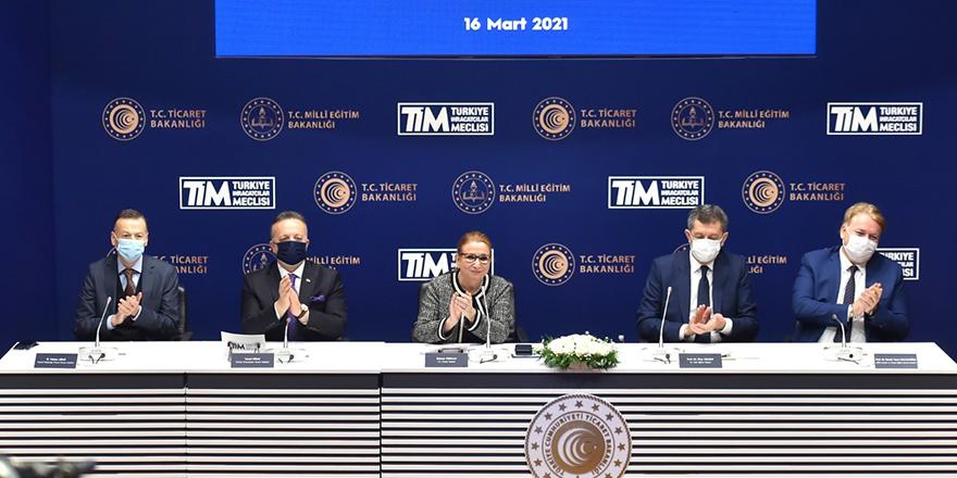 Dış Ticaret meslek liseleri protokolü
