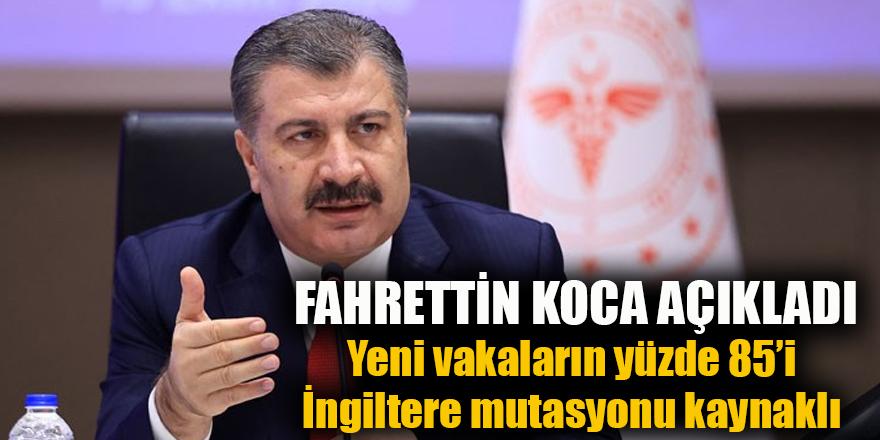 FAHRETTİN KOCA AÇIKLADI