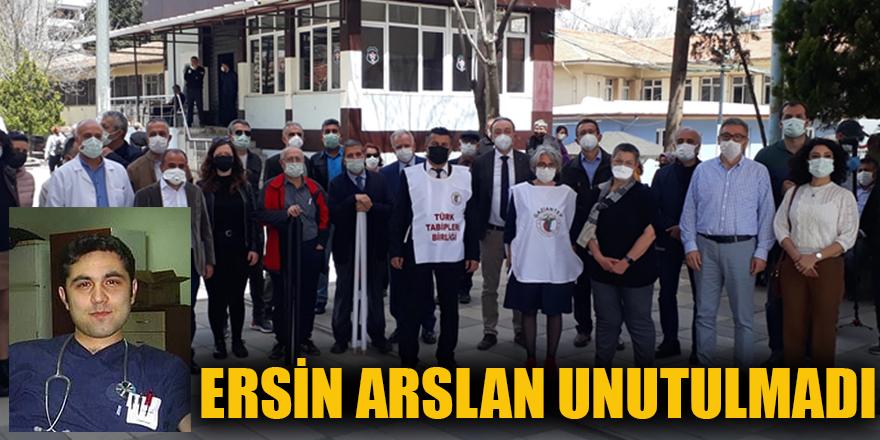 Ersin Arslan unutulmadı