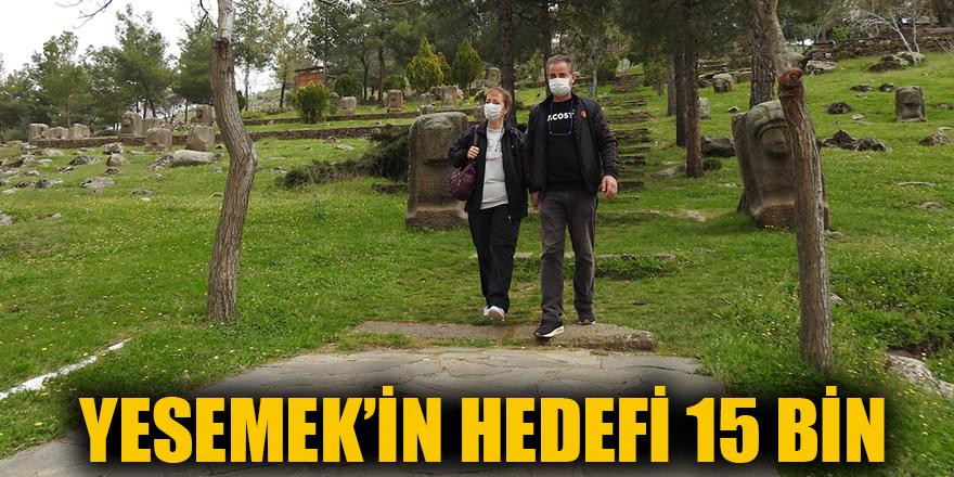 Yesemek'in hedefi 15 bin