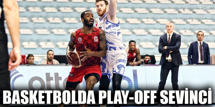 Basketbolda Play-Off sevinci