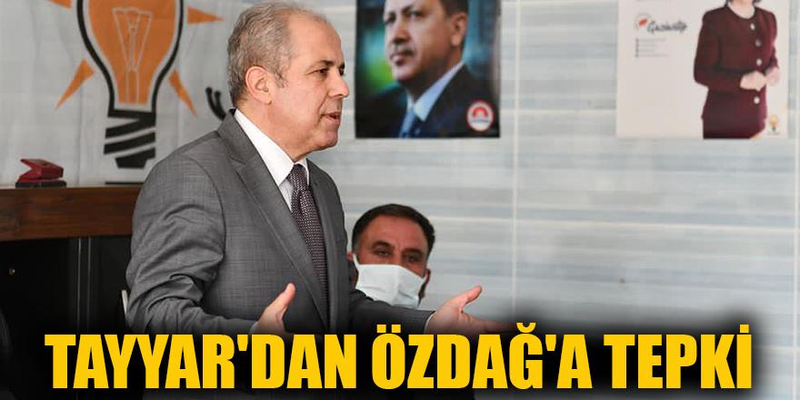 Tayyar'dan Özdağ'a tepki