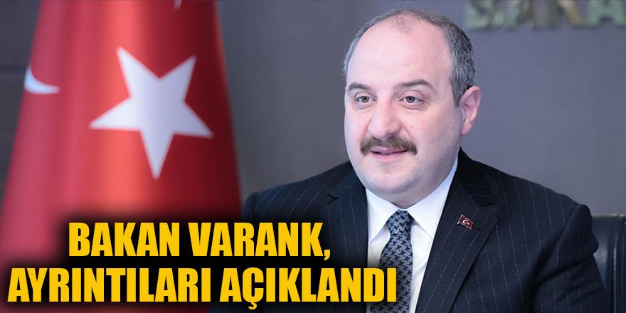 Bakan Varank, ayrıntıları açıklandı