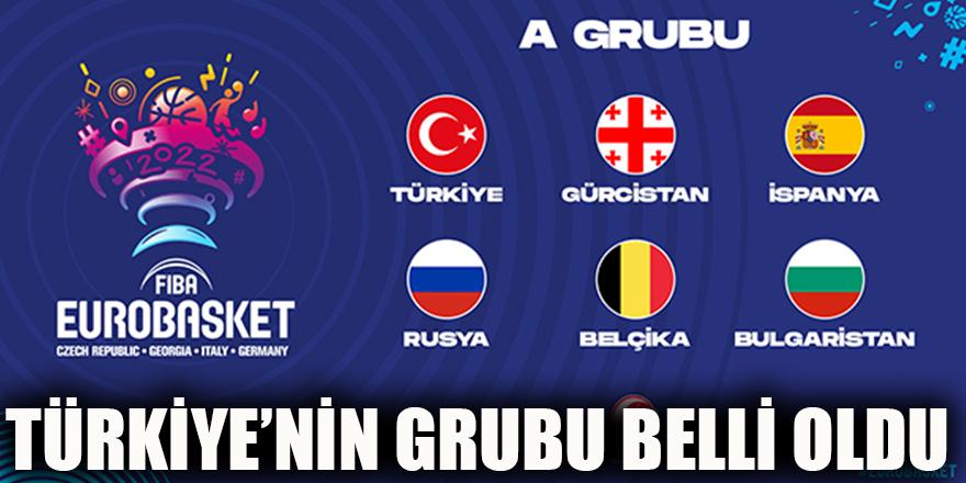 Türkiye'nin grubu belli oldu