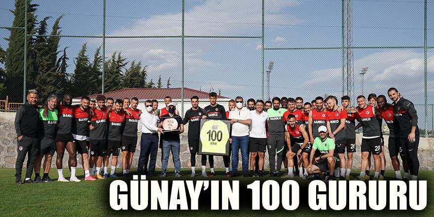 Günay'ın 100 gururu