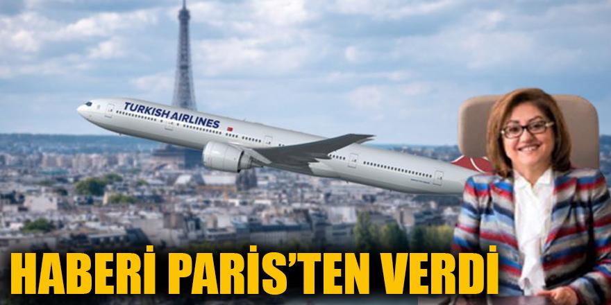 Haberi Paris'ten verdi