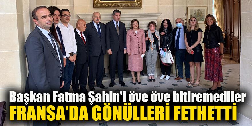 Başkan Fatma Şahin'i öve öve bitiremediler
