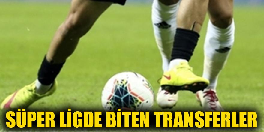 Süper Ligde biten transferler