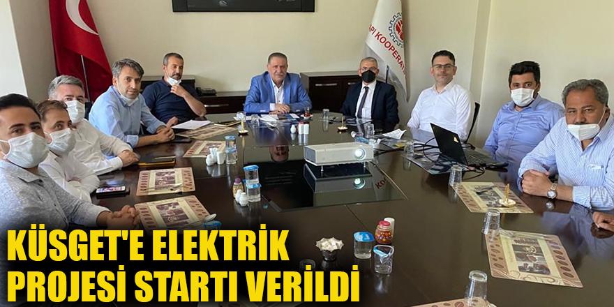 Küsget'e elektrik Projesi startı verildi