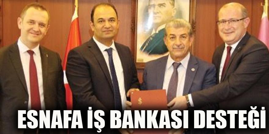 Esnafa İş bankası desteği