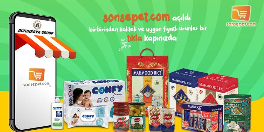 """Onlıne alışveriş sitesi """"SonSepet"""" açıldı"""