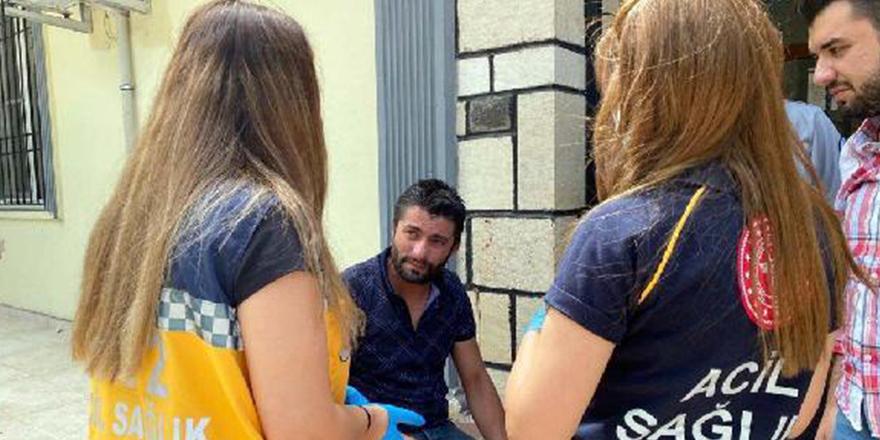 DHA muhabirine çirkin saldırı
