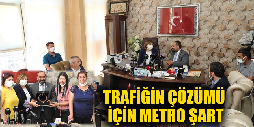 Trafiğin çözümü için Metro şart