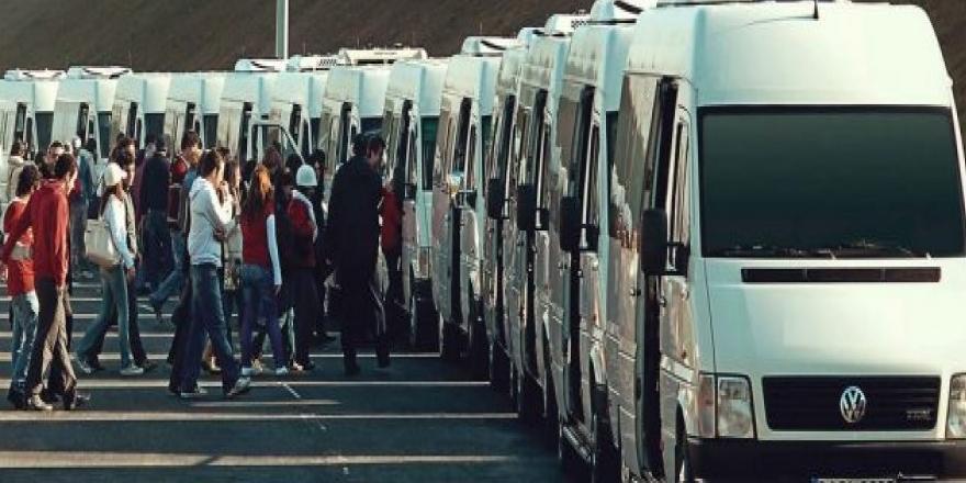 Personel taşıma hizmeti alınacak