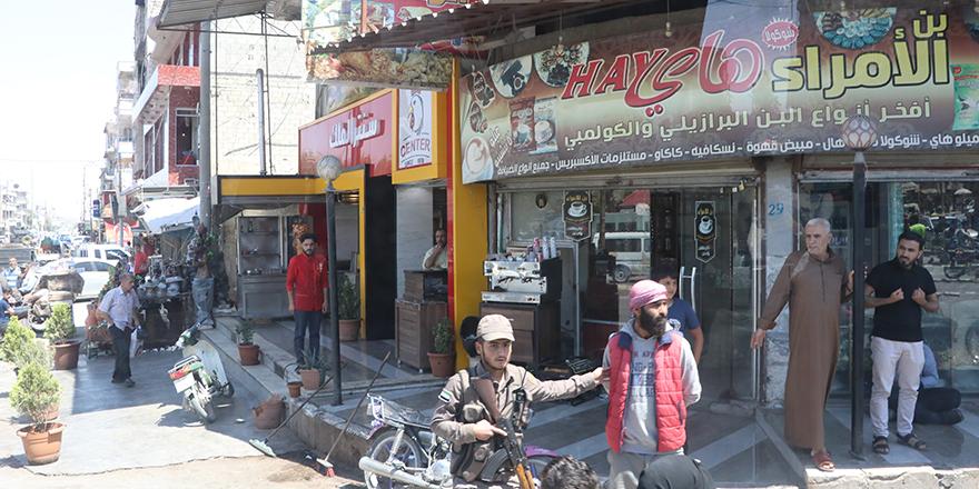 El Bab'da yüzler gülmeye başladı