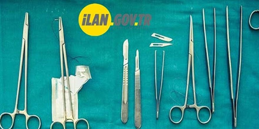 Şehir hastanesine cerrahi alet alımı yapılacak