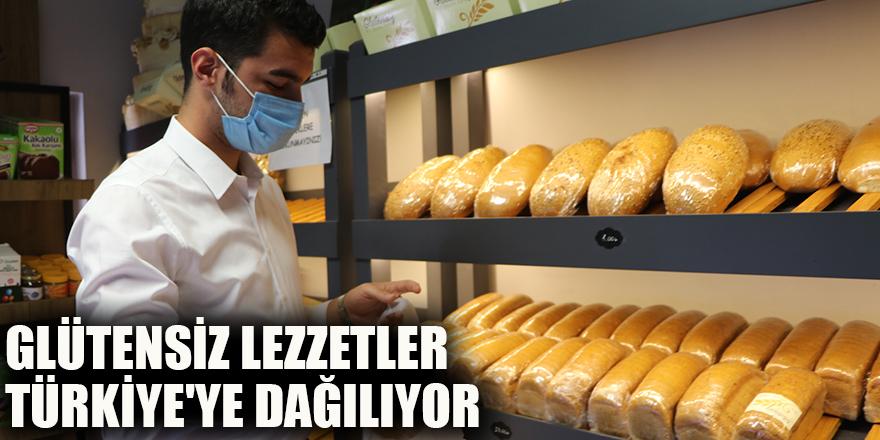 Glütensiz lezzetler Türkiye'ye dağılıyor