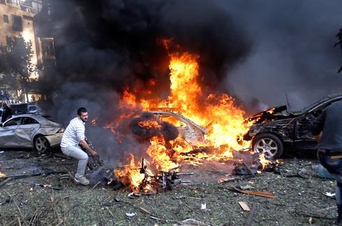 İran Büyükelçiliği yakınlarında patlama