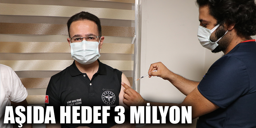 Aşıda hedef 3 milyon