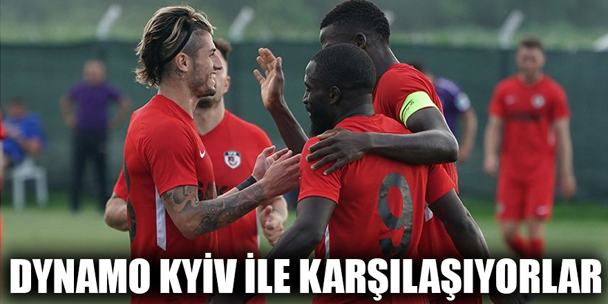 Dynamo Kyiv ile karşılaşıyorlar