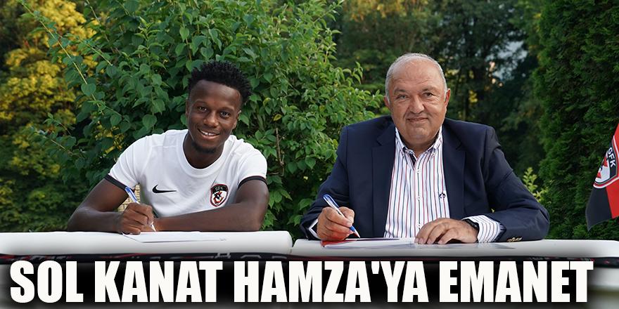 Sol kanat Hamza'ya emanet