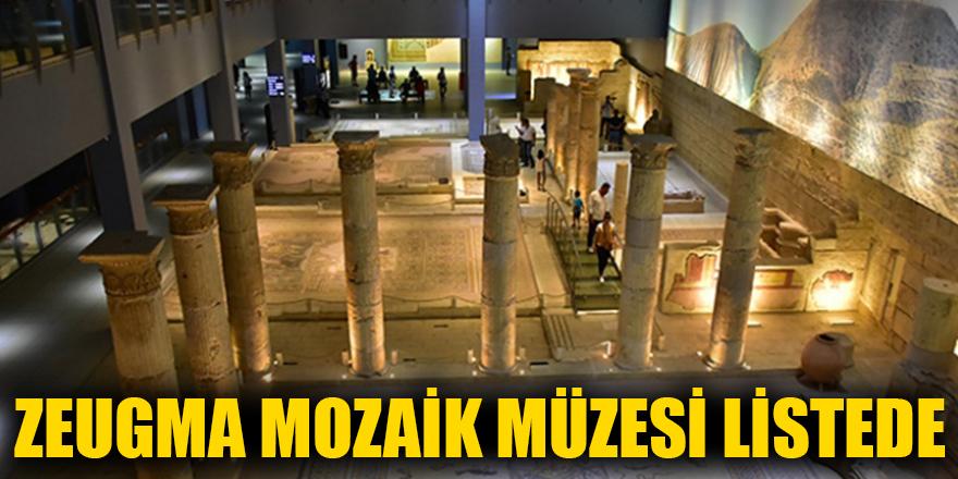 Zeugma mozaik müzesi listede